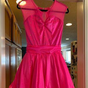 Weissman Hot Pink performance/Party dress